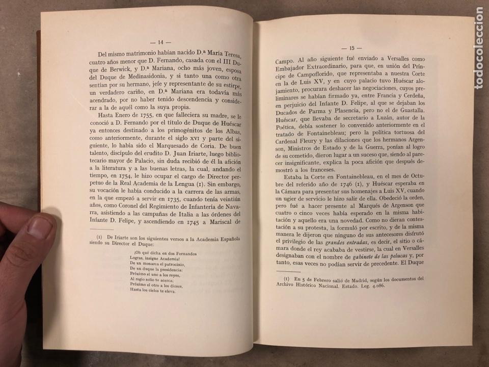 Libros antiguos: LA DUQUESA DE ALBA Y GOYA, ESTUDIO BIOGRÁFICO Y ARTÍSTICO. JOAQUÍN EZQUERRA DEL BAYO. 1927 - Foto 6 - 183746377