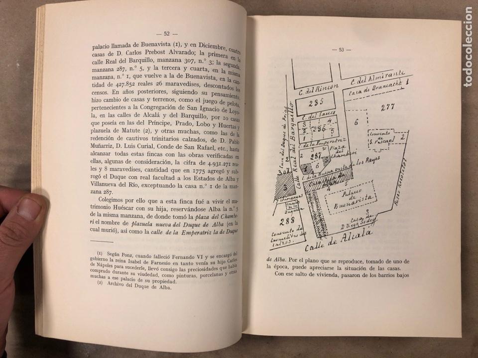 Libros antiguos: LA DUQUESA DE ALBA Y GOYA, ESTUDIO BIOGRÁFICO Y ARTÍSTICO. JOAQUÍN EZQUERRA DEL BAYO. 1927 - Foto 7 - 183746377
