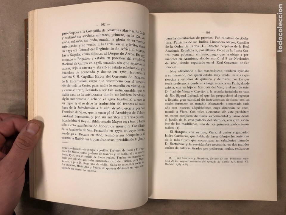 Libros antiguos: LA DUQUESA DE ALBA Y GOYA, ESTUDIO BIOGRÁFICO Y ARTÍSTICO. JOAQUÍN EZQUERRA DEL BAYO. 1927 - Foto 8 - 183746377