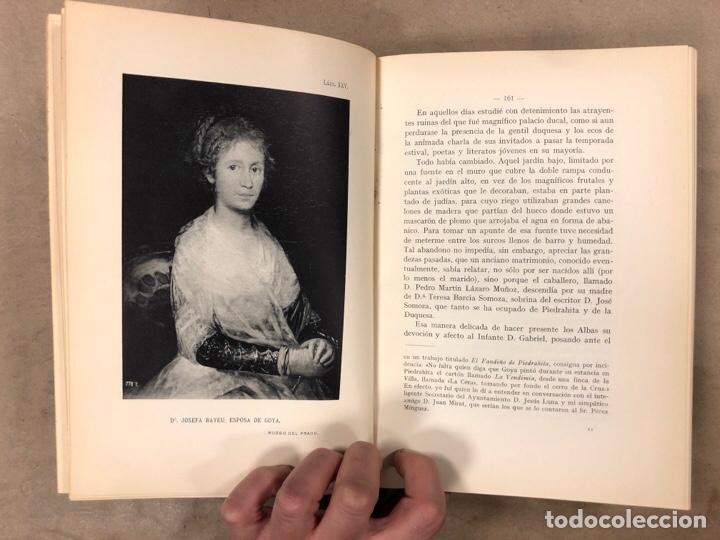 Libros antiguos: LA DUQUESA DE ALBA Y GOYA, ESTUDIO BIOGRÁFICO Y ARTÍSTICO. JOAQUÍN EZQUERRA DEL BAYO. 1927 - Foto 10 - 183746377