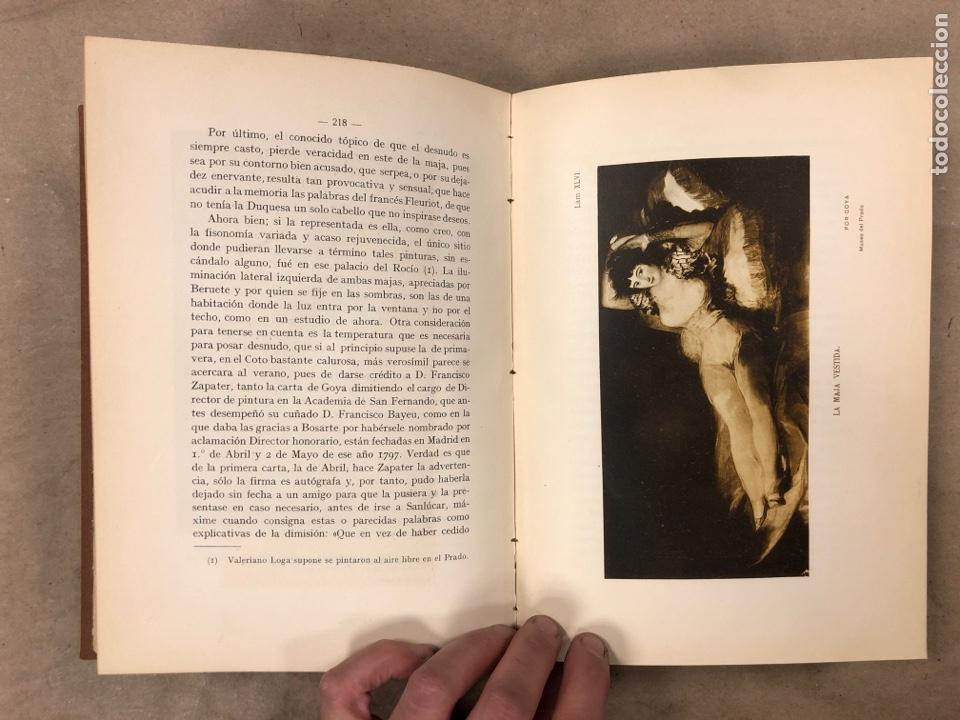 Libros antiguos: LA DUQUESA DE ALBA Y GOYA, ESTUDIO BIOGRÁFICO Y ARTÍSTICO. JOAQUÍN EZQUERRA DEL BAYO. 1927 - Foto 11 - 183746377