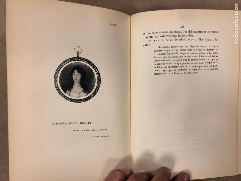 Libros antiguos: LA DUQUESA DE ALBA Y GOYA, ESTUDIO BIOGRÁFICO Y ARTÍSTICO. JOAQUÍN EZQUERRA DEL BAYO. 1927 - Foto 12 - 183746377