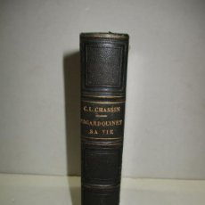 Libros antiguos: EDGAR QUINET. SA VIE ET SON OEUVRE. CHASSIN, CHARLES-LOUIS. 1859.. Lote 183798533