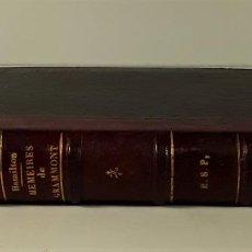 Libros antiguos: MÉMOIRES DU CHEVALIER DE GRAMMONT. HAMILTON. EDIT. CHARPENTIER. 1883.. Lote 183898315
