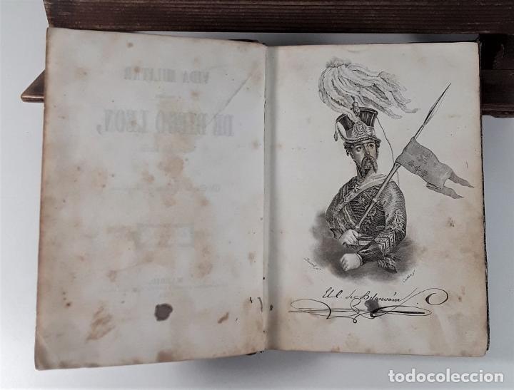 Libros antiguos: VIDA MILITAR Y POLÍTICA DE DIEGO LEÓN. C. MASSA. EST. J. MANINI. MADRID. 1843. - Foto 6 - 183900005