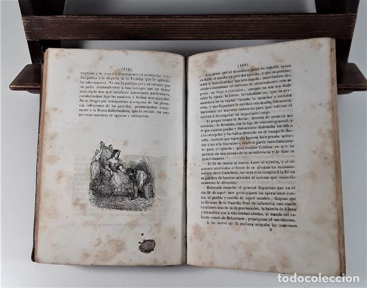 Libros antiguos: VIDA MILITAR Y POLÍTICA DE DIEGO LEÓN. C. MASSA. EST. J. MANINI. MADRID. 1843. - Foto 7 - 183900005
