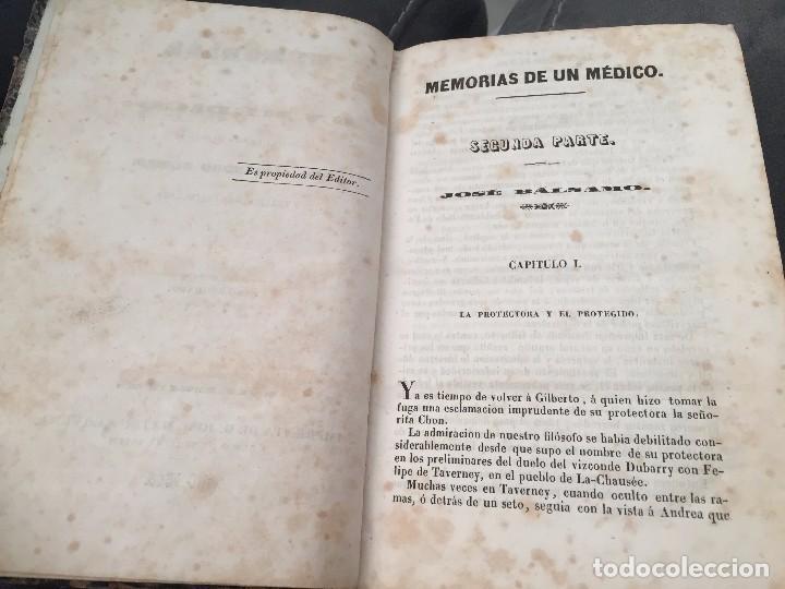 Libros antiguos: Memoria de un médico. Segunda parte - Foto 3 - 183938681