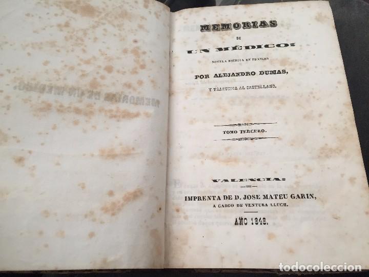 Libros antiguos: Memoria de un médico. Tercera parte - Foto 3 - 183940095