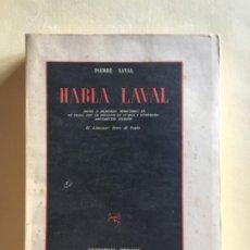 Libros antiguos: HABLA LAVAL. Lote 184264437