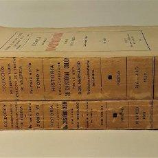 Libros antiguos: HISTORIA DEL ADMIRANTE DON CRISTÓBAL COLÓN, POR SU HIJO DON HERNANDO. 2 TOMOS. . Lote 184630737