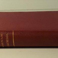 Livres anciens: HOMENAJE Á LA BUENA MEMORIA DE DON NICOLÁS SALMERÓN Y ALONSO. MADRID. 1911.. Lote 184712142