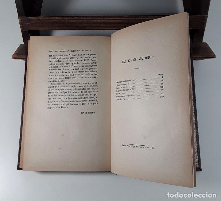 Libros antiguos: BIOGRAPHIES DU XIX SIÈCLE. VARIOS AUTORES. LIBR. BLOUD ET BARRAL. PARÍS. - Foto 7 - 184920041