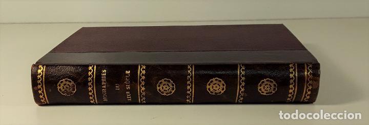 BIOGRAPHIES DU XIX SIÈCLE. VARIOS AUTORES. LIBR. BLOUD ET BARRAL. PARÍS. (Libros Antiguos, Raros y Curiosos - Biografías )