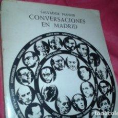 Libros antiguos: CONVERSACIONES EN MADRID. Lote 185696035