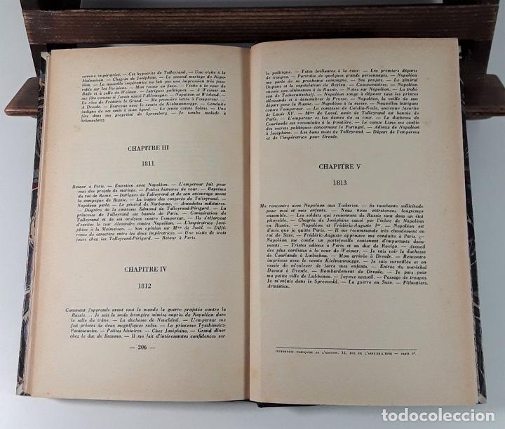 Libros antiguos: MÉMOIRES DE LA COMTESSE DE KIELMANNSEGGE SUR NAPOLEON 1ª. 2 TOMOS. 1928. - Foto 7 - 185788242