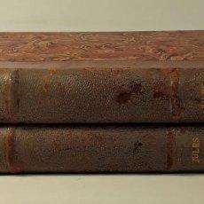 Libros antiguos: JULES BARBEY DAUREVILLY SA VIE ET SON OEUVRE. 2 VOLUM. E. GRELÉ. 1902/04.. Lote 185875440