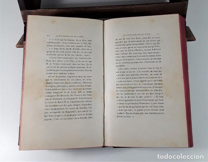 Libros antiguos: HISTOIRE DUNE GRANDE DAME AU XVIII SIECLE, LA PRINCESSE HÉLÈNE DE LIGNE. 1888. - Foto 7 - 185880058