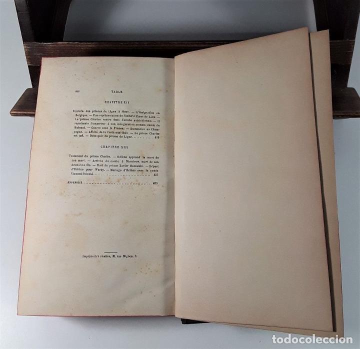Libros antiguos: HISTOIRE DUNE GRANDE DAME AU XVIII SIECLE, LA PRINCESSE HÉLÈNE DE LIGNE. 1888. - Foto 8 - 185880058
