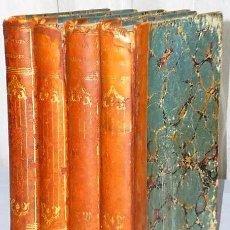 Libros antiguos: PERSONAJES CÉLEBRES DEL SIGLO XIX, POR UNO QUE NO LO ES (4 TOMOS). Lote 186117081