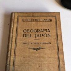 Libros antiguos: GEOGRAFIA DEL JAPON. Lote 186125887