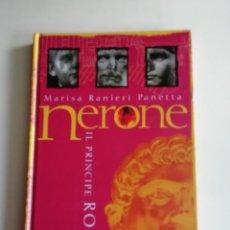 Libros antiguos: NERONE IL PRINCIPE ROSSO. Lote 186306635