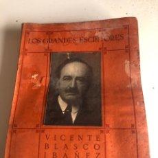 Libros antiguos: VICENTE BLASCO IBÁÑEZ. Lote 186387047