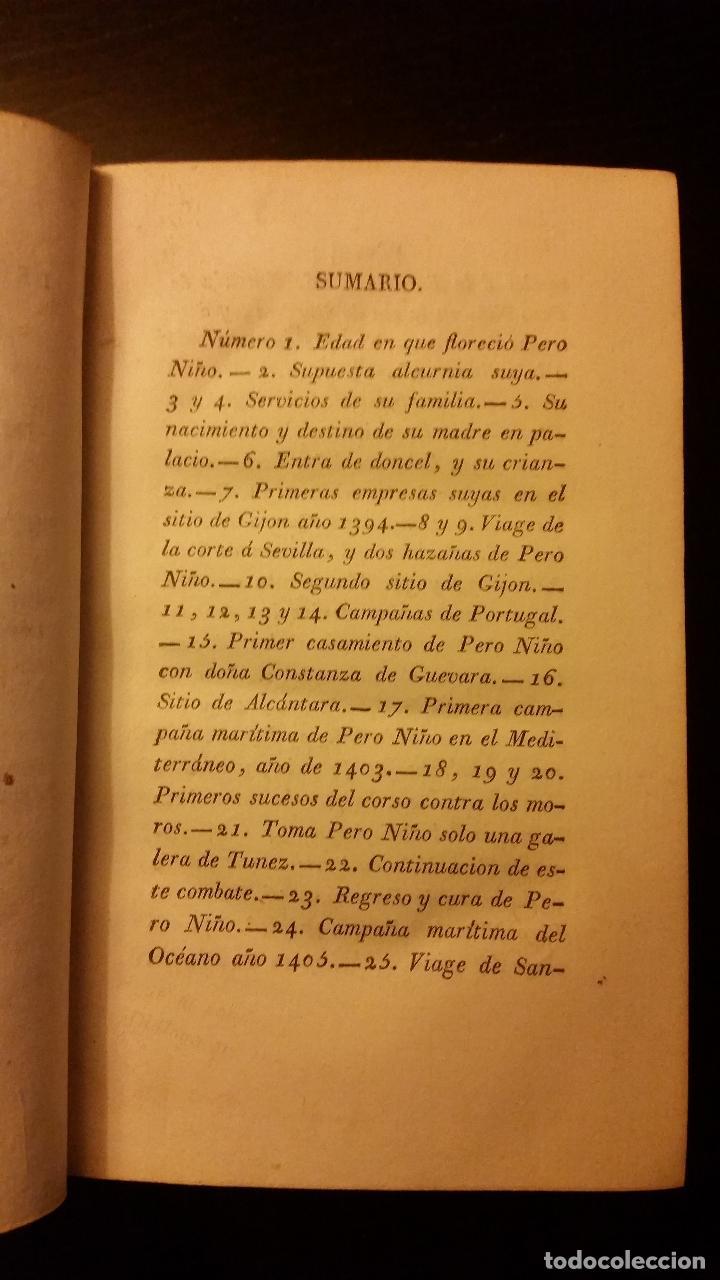 Libros antiguos: 1807 - VARGAS Y PONCE - Varones ilustres de la marina española: Vida de Don Pedro Niño - Foto 3 - 187493766