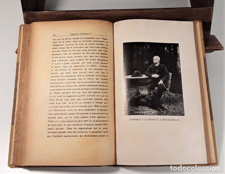 Libros antiguos: PENSÉES ET SOUVENIRS DU PRINCE OTTO VON BISMARCK. IMP. STRASBOURGEOISE. PARÍS. 1919. - Foto 7 - 188669527