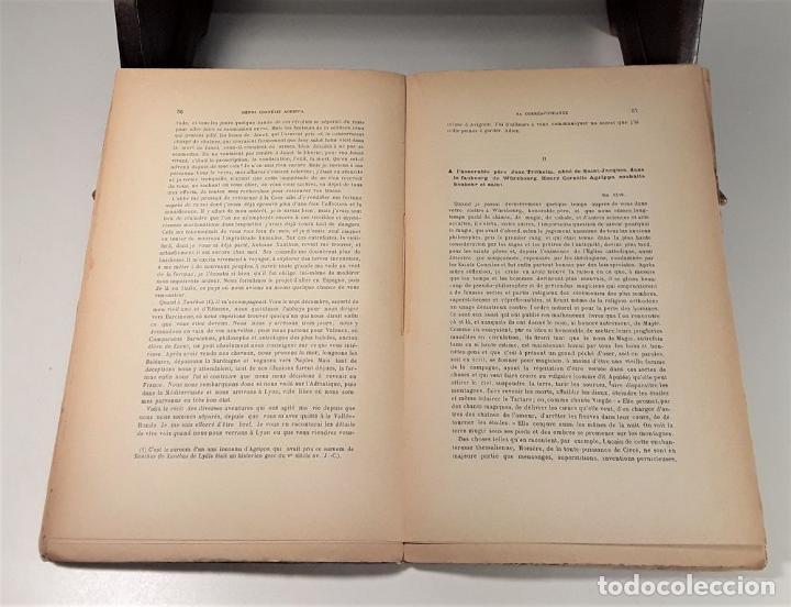 Libros antiguos: HENRI CORNÉLIS AGRIPPA SA VIE ET SON OEUVRES DAPRÈS SA CORRESPONDANCE(1486-1535). - Foto 5 - 189091340