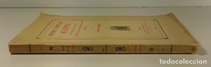 HENRI CORNÉLIS AGRIPPA SA VIE ET SON OEUVRES DAPRÈS SA CORRESPONDANCE(1486-1535). (Libros Antiguos, Raros y Curiosos - Biografías )
