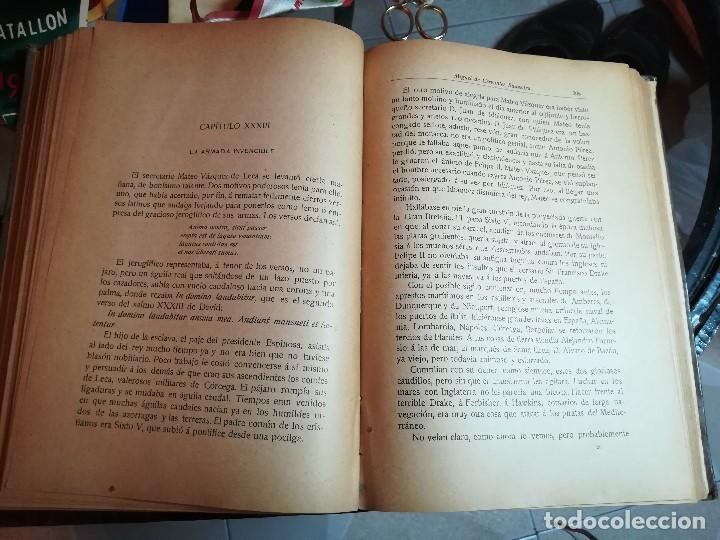Libros antiguos: EL INGENIOSO HIDALGO MIGUEL DE CERVANTES... SUCESOS DE SU VIDA.. POR FRANCISCO NAVARRO Y LEDESMA - Foto 7 - 189605366