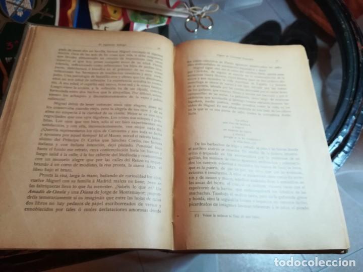Libros antiguos: EL INGENIOSO HIDALGO MIGUEL DE CERVANTES... SUCESOS DE SU VIDA.. POR FRANCISCO NAVARRO Y LEDESMA - Foto 9 - 189605366
