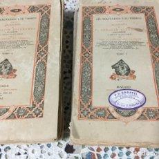 Libros antiguos: EL SOLITARIO Y SU TIEMPO BIOGRAFÍA DE SERAFIN ESTEBANEZ,1883,TOMÓ I Y II. Lote 190281908