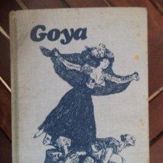 Libros antiguos: GOYA ARIEL BIGNAMI CENTRO EDITOR DE AMERICA LATINA BUEN ESTADO. Lote 191260643