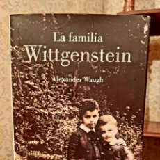 Libri antichi: ALEXANDER VAUGH - LA FAMILIA WITTGENSTEIN. Lote 191652722