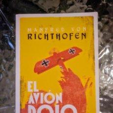 Livres anciens: EL AVIÓN ROJO DE COMBATE, MANFRED VON RICHTHOFEN. Lote 191904351