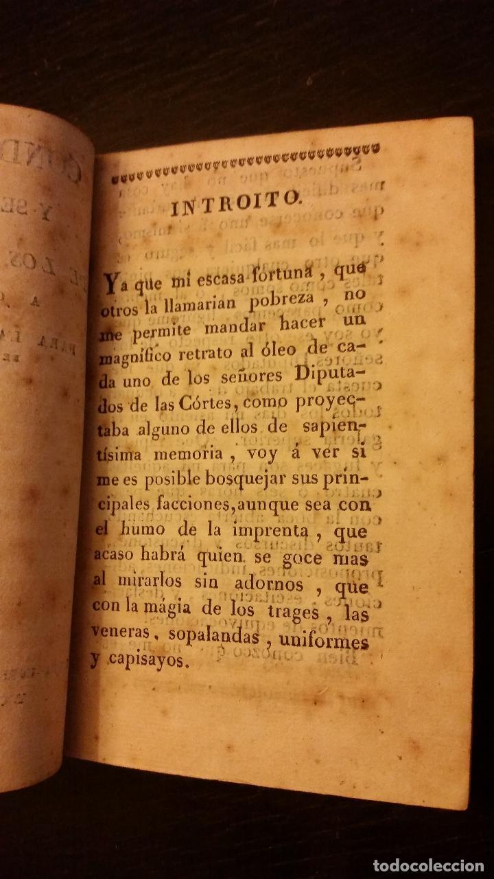 Libros antiguos: TRIENIO LIBERAL- Condiciones y semblanzas de los diputados a Cortes para la Legislatura de 1820 1821 - Foto 3 - 192060263