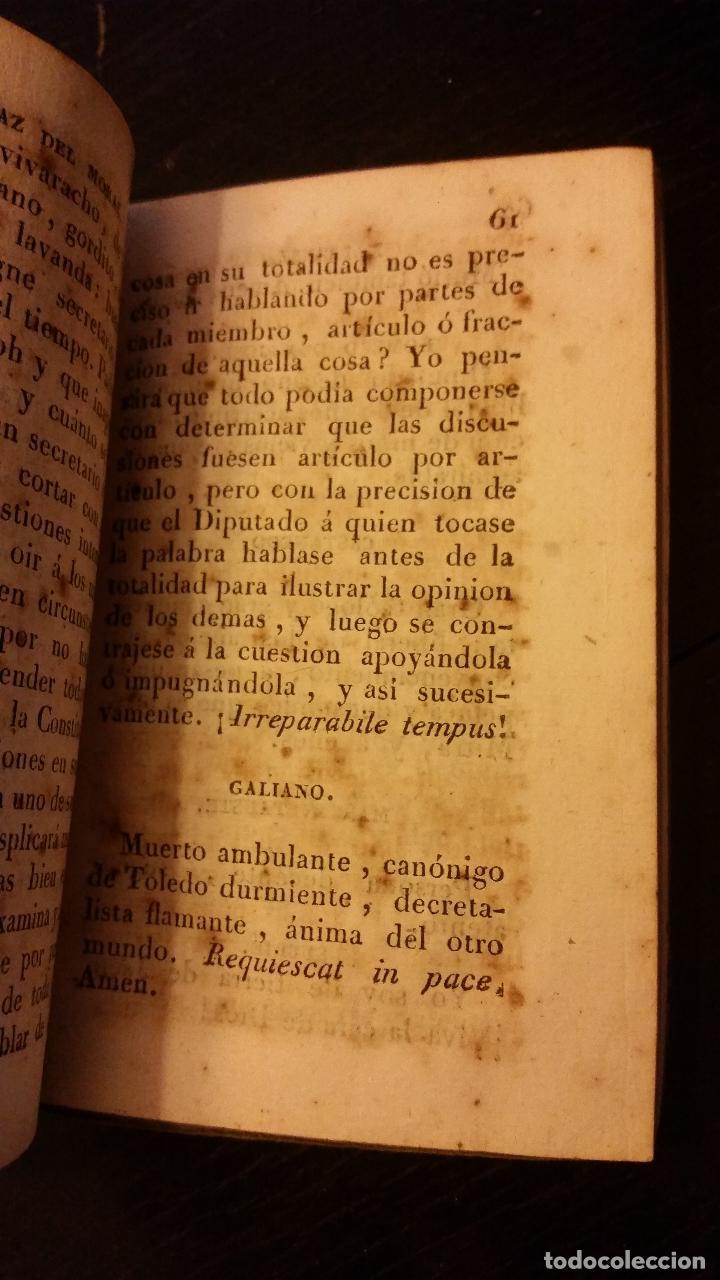 Libros antiguos: TRIENIO LIBERAL- Condiciones y semblanzas de los diputados a Cortes para la Legislatura de 1820 1821 - Foto 6 - 192060263