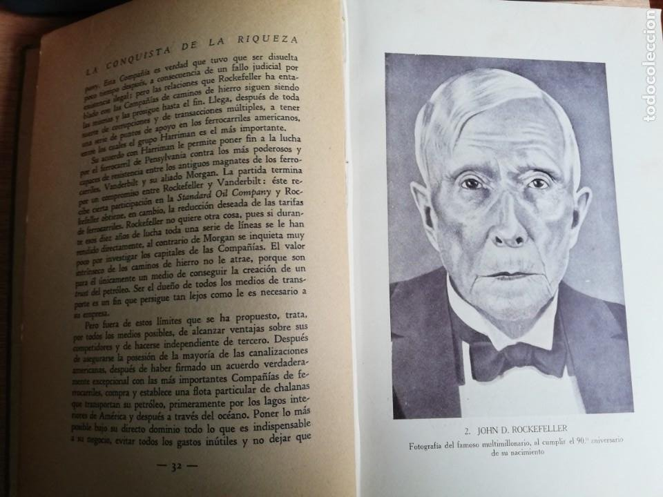 Libros antiguos: La conquista de la riqueza. Richard Lewinsohn. 1ª Edic. 1929. Joaquín Gil Editor - Foto 11 - 193320320