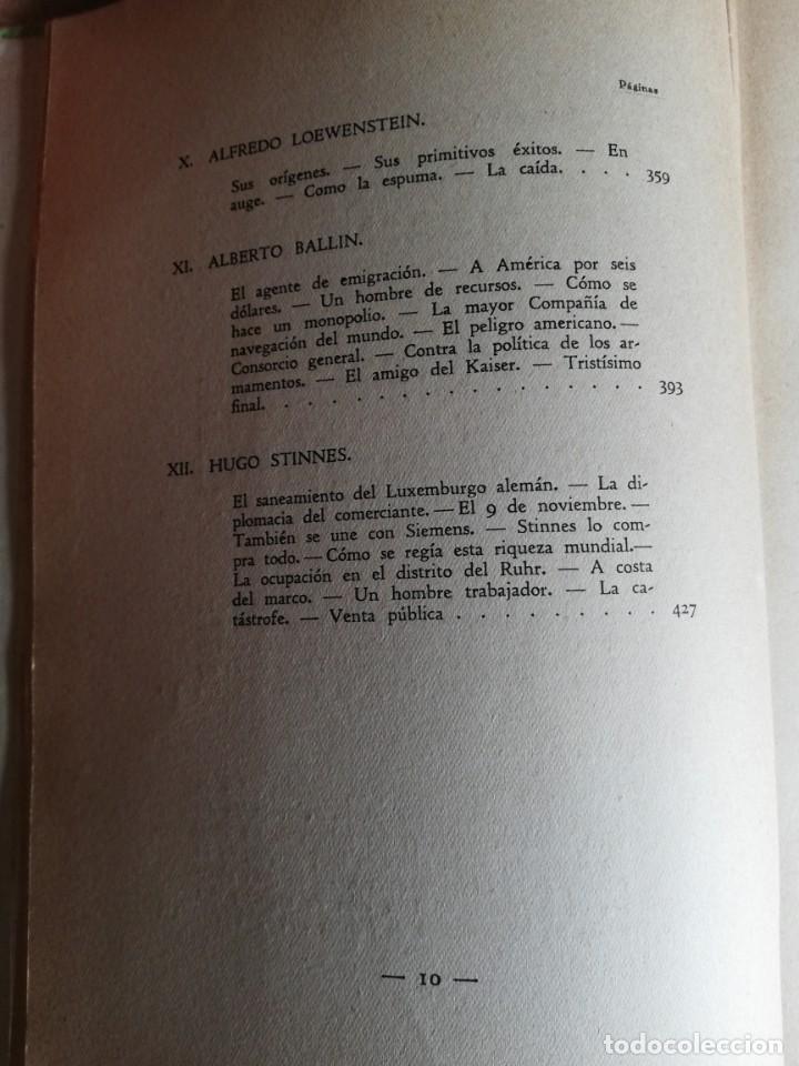 Libros antiguos: La conquista de la riqueza. Richard Lewinsohn. 1ª Edic. 1929. Joaquín Gil Editor - Foto 8 - 193320320