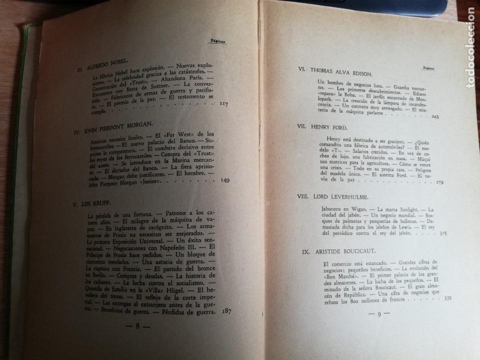 Libros antiguos: La conquista de la riqueza. Richard Lewinsohn. 1ª Edic. 1929. Joaquín Gil Editor - Foto 7 - 193320320