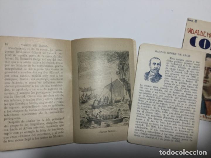 Libros antiguos: Vidas de hombres celebres - 3 ejemplares - Foto 2 - 194126106