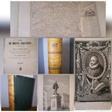 Libros antiguos: 1857 - VIDA DE MIGUEL CERVANTES SAAVEDRA, ILUSTRADA CON NUEVE LÁMINAS EN COBRE, GERÓNIMO ROLDÁN. Lote 194126743