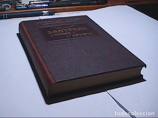 Libros antiguos: FIGURES DEL TEATRE. JOSEP SANTPERE. LHOME I LARTISTA. 1931. ANTONI VALLESCA. BARCELONA. - Foto 6 - 194153833