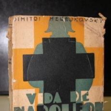 Libros antiguos: VIDA DE NAPOLEÓN (1769-1821). Lote 194712485