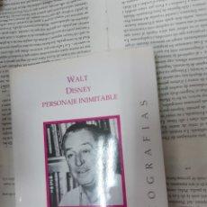 Libros antiguos: WALT DISNEY PERSONAJE INIMITABLE BOB THOMAS . Lote 194905857