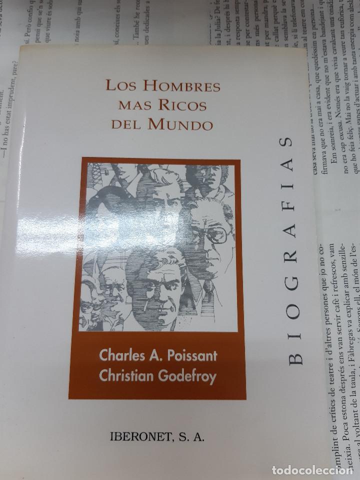 LOS HOMBRES MAS RICOS DEL MUNDO CHARLES A. POISSANT - CHRISTIAN GODEFROY (Libros Antiguos, Raros y Curiosos - Biografías )