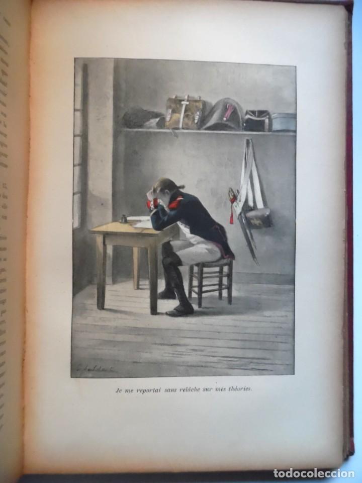 Libros antiguos: LARCHEY, LOREDAN. Les cahiers du Capitaine Coignet, 1776-1850, Paris, 1907. - Foto 9 - 194923456