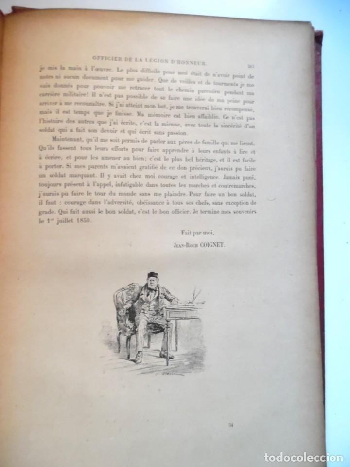 Libros antiguos: LARCHEY, LOREDAN. Les cahiers du Capitaine Coignet, 1776-1850, Paris, 1907. - Foto 10 - 194923456
