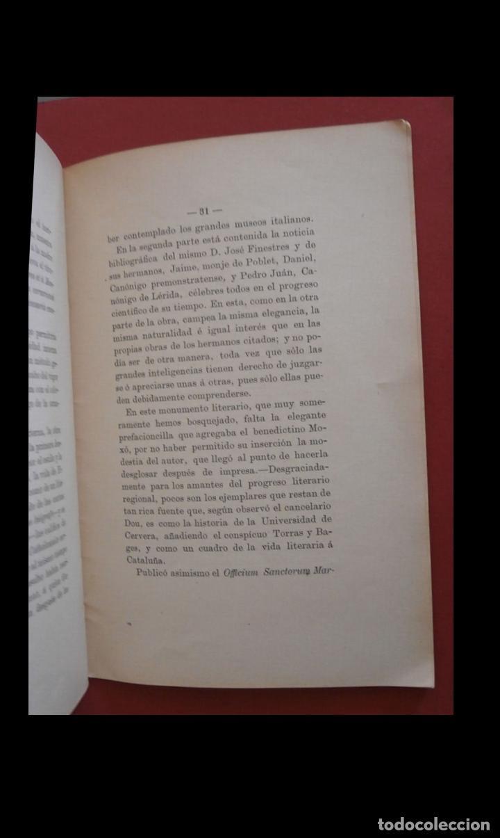 Libros antiguos: P. Luciano Gallissá y Costa. Discurso biografico leido el dia.. por D. José Galobardes - Foto 2 - 194993215